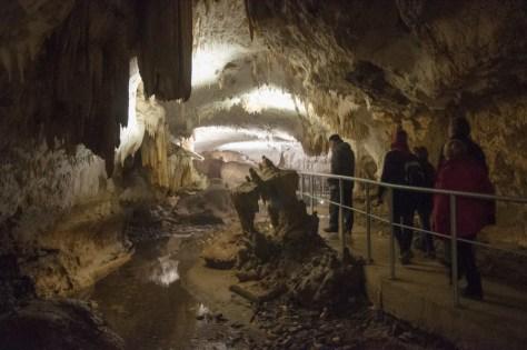 Inside Rajko's cave