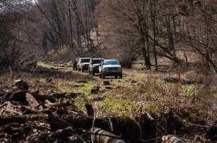 No further drive along Valja Saka is possible
