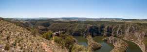 The famous Molitva scenic view