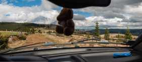Travelling towards Muntele Mare