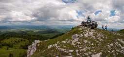 Katunić peak on Jadovnik