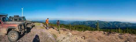 On the Cucurbata Mare ridge