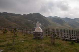 Grave in the Sinjajevina highlands