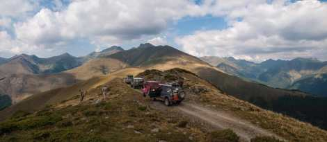 In the Fagaras mountains