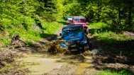In the mud of Golija mountain
