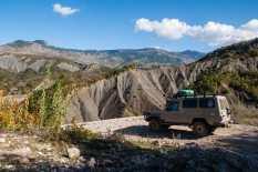 Albanian mountain road