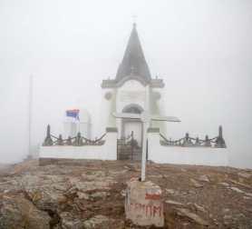 The memorial chappel at Kajmakčalan peak