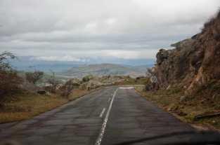 Road towards Prilep