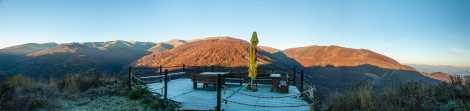 The scenic platform by Karadžica mountaineering hut