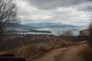 First sight of Vlasina lake