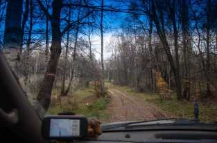 Forest road over Gramada mountain