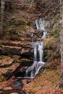 An Arbinje waterfall