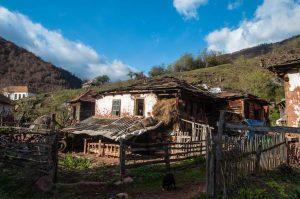 Old house in the Topli Dol village