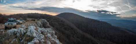 At the Malinik ridge