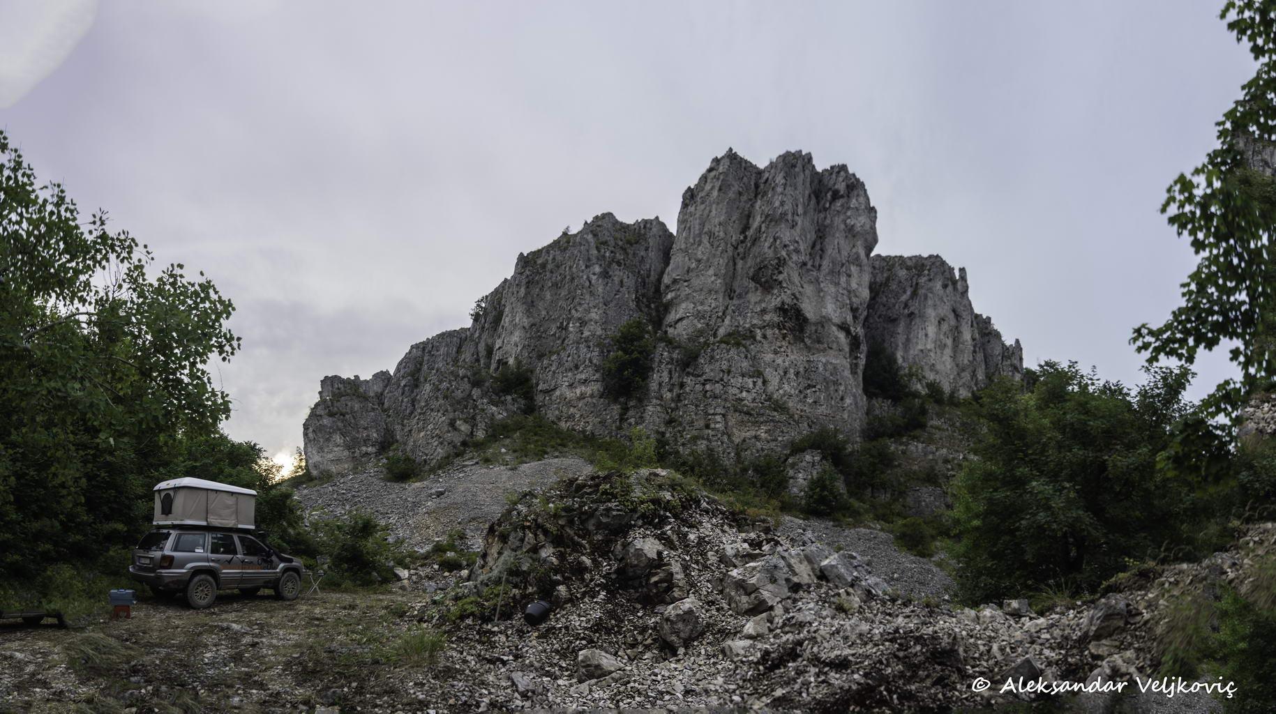 Under the Mikulj rock