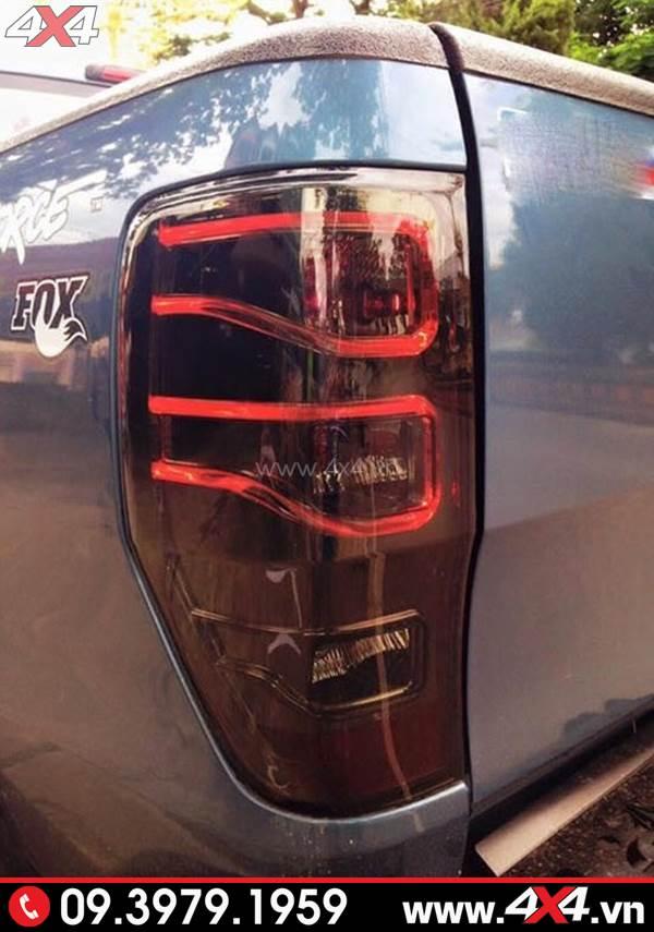 Độ đèn Ford Ranger: Đèn hậu độ kiểu Merc đẹp và đẳng cấp dành cho xe bán tải