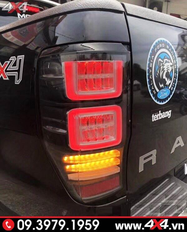 Độ đèn Ford Ranger: Đèn hậu độ kiểu Range Rover đẹp và chất cho xe bán tải