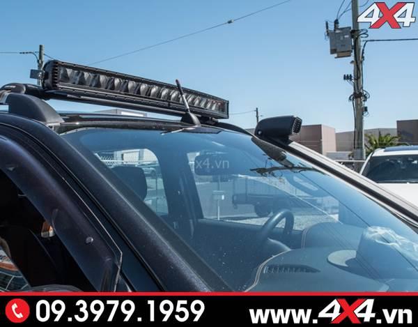Độ đèn Ford Ranger: Đèn led bar Stedi độ khủng và siêu sáng cho xe bán tải