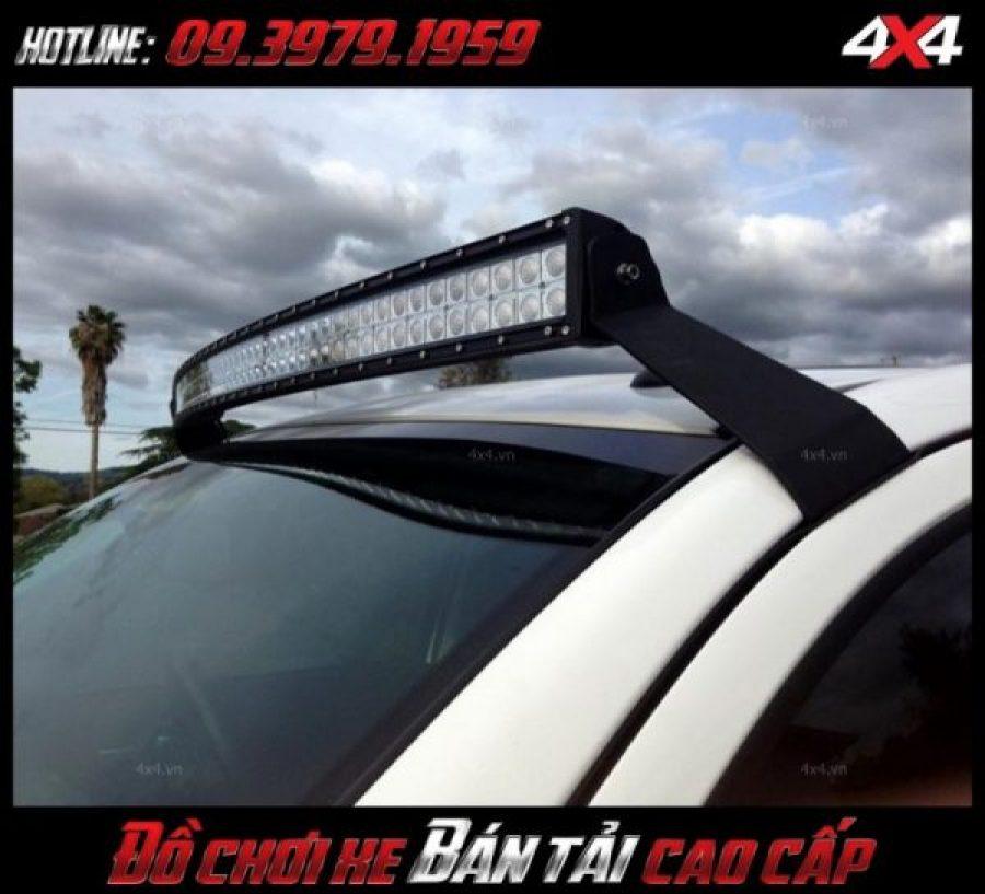 Hình ảnh độ đèn xe bán tải, độ đèn Fprd Ranger: đèn led bar 10D đẹp và đẳng cấp độ tại HCM
