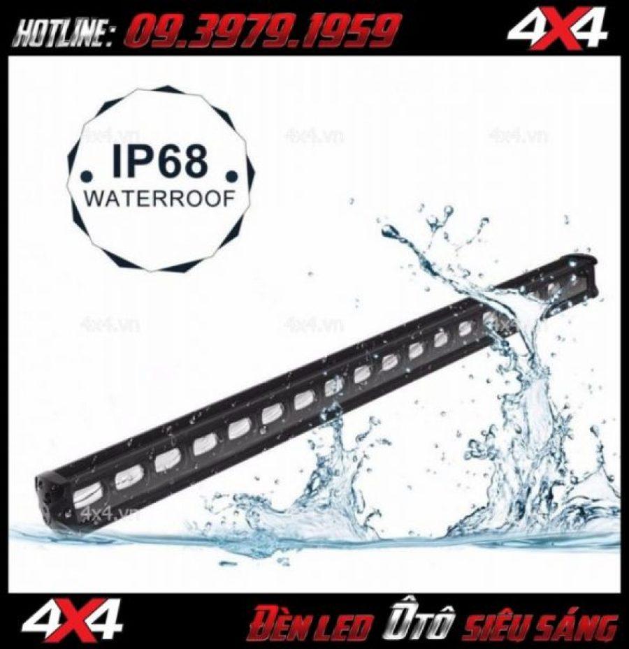 Hình ảnh đèn led bar 6D đạt chuẩn không vào nước IP68