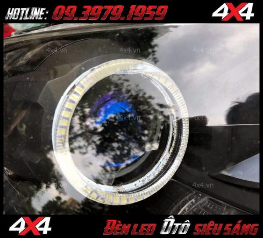 Đèn mắt quỷ và vòng angel eyes độ đẹp và chất cho xe bán tải, xe ô tô tại HCM