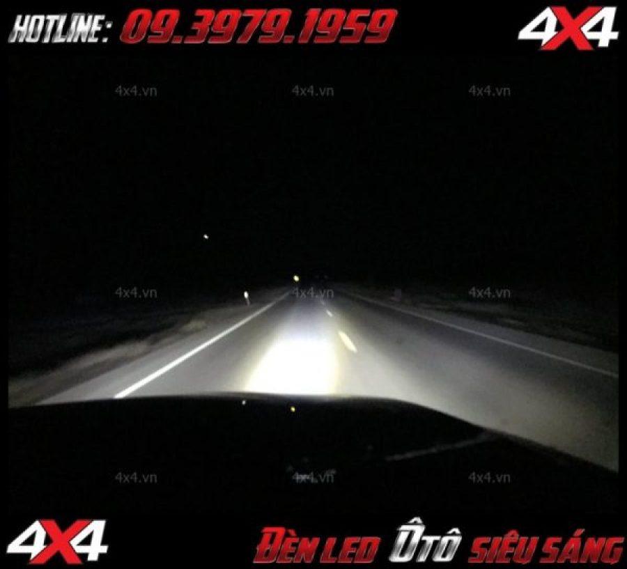 Bức ảnh: hình dạng cực chất của xe bán tải sau khi gắn đèn led light bar