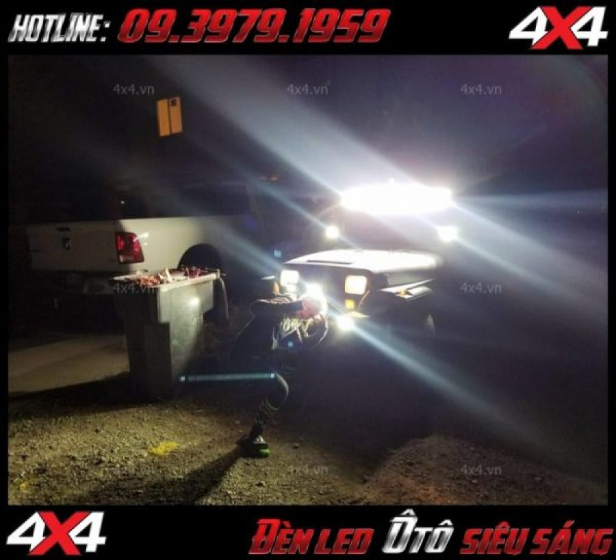 Tấm ảnh đèn led độ: Với cường độ sáng cao và hình dạng chất đèn led bar đang được ưa chuộng vô vùng nhiều hiện giờ