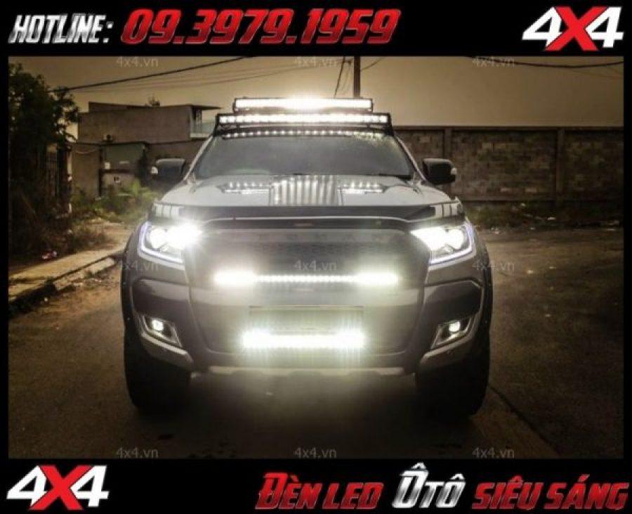 Đèn led cho xe offroad là phụ kiện không thể thiếu để giúp soi sáng cho xe bán tải, xe 4 bánh vào ban đêm