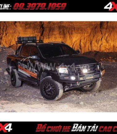 Image: Bán cản trước overland K2 cho xe bán tải Ford Ranger ở HCM