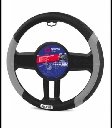 Bọc vô lăng kiểu SPARCO CORSA SPC1113GR cho xe ô tô xe bán tải