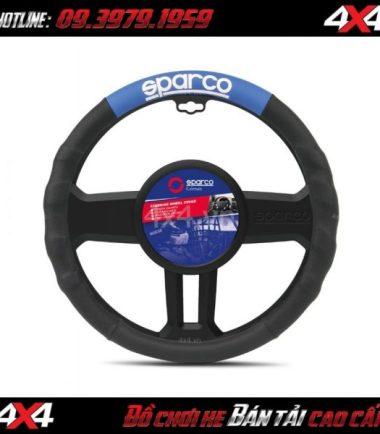 Bọc vô lăng SPARCO CORSA Ý – SPC1111GR cho xe ô tô, xe bán tải tại HCM
