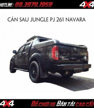 Photo: Cản sau Jungle PJ 261 cho xe bán tải Toyota Hilux 2018 2019 tại Sài Gòn