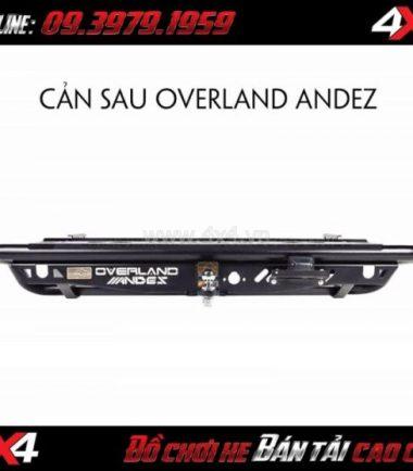 Hình ảnh Cản sau Overland Andez dành cho xe bán tải Ford Ranger 2019 ở Tp Hồ Chí Minh
