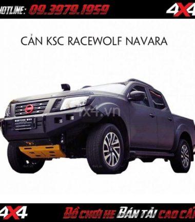 Image Cản trước KSC Race Wolf gắn cho xe bán tải Nissan Navara tại Tp Hồ Chí Minh