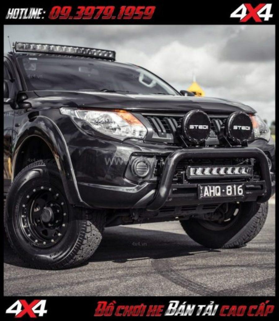 Tấm ảnh Chuyên bán đèn led bar Stedi 40.5 inch Curved ST2K cho xe bán tải, xe bốn bánh tại HCM