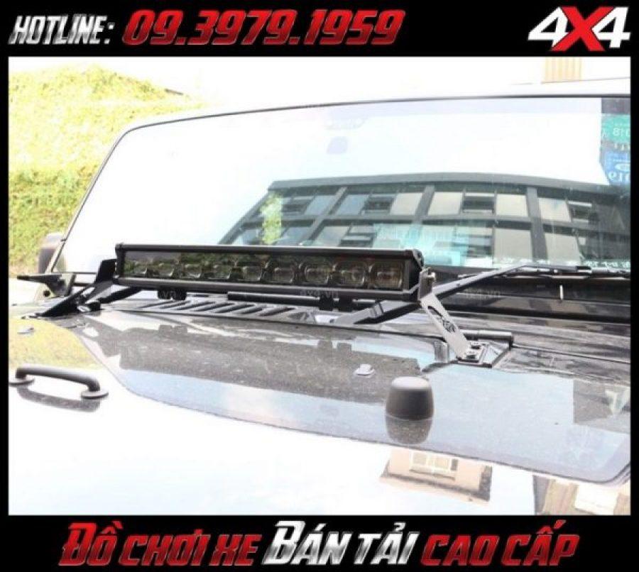 Đèn led bar ô tô, đèn led bar Ford ranger: Đèn led bar 6D độ đẹp và chất cho xe ô tô xe bán tải