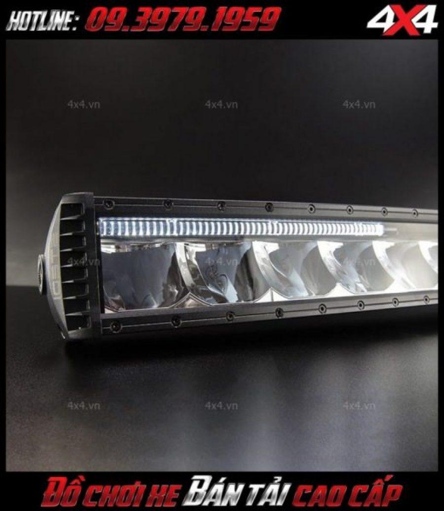 Hình ảnh đèn led bar ô tô: Đèn led bar độ đẹp cho xe ô tô, xe bán tải Ford Ranger