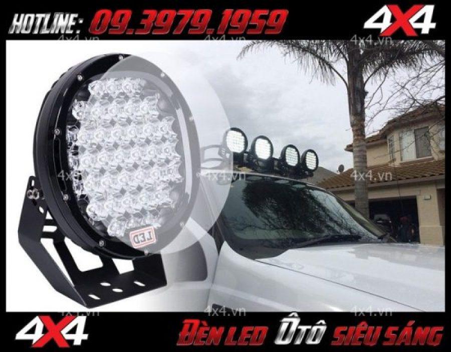 Đèn led tròn: đèn nóc xe bán tải đẹp và hài hòa dành cho xe Ford Ranger