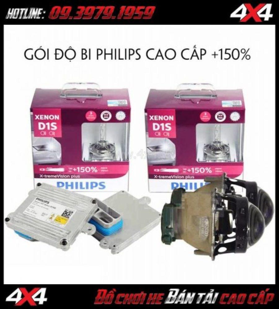Image Độ bóng xenon Philips tăng sáng đến 150% cho một vài dòng xe bốn bánh tại Sài Gòn