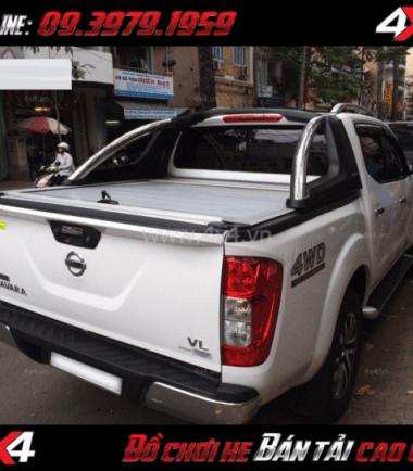 Picture: Nắp thùng cuộn Carryboy cho xe bán tải Nissan Navara 2018