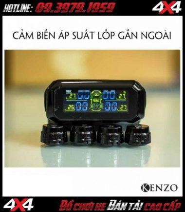Tấm ảnh Bán cảm biến áp suất lốp gắn ngoài TPMS E100 Kenzo chất lượng giá rẻ ở Sài Gòn