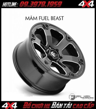 Photo: Bán mâm 18 Inch: Mâm Fuel One Piece Beast D562 dành cho xe pick up và xe SUV