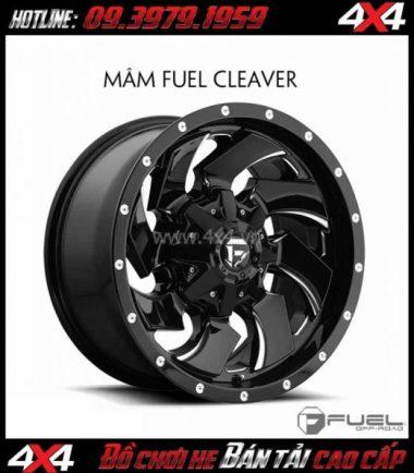 Tấm ảnh: Bán mâm 18 Inch: Mâm Fuel One Piece Cleaver – D574 dành cho xe pick up và SUV