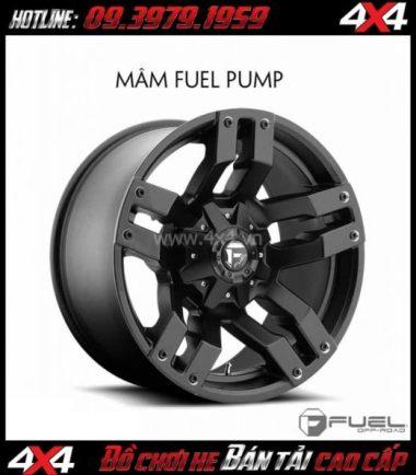Tấm ảnh: Bán mâm 18 Inch: Mâm Fuel One Piece Pump D515 cho xe ô tô xe off-road