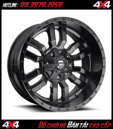 Image bán mâm 18 inch Mâm SLEDGE D596 2018 2019 gắn đẹp cho xe off-road và SUV