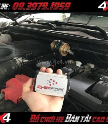 Tấm ảnh: Chip công suất Chipexpress giúp tối ưu hóa công suất của động cơ Ford Ranger