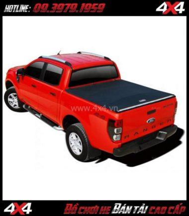 Chuyên bán nắp thùng mềm Carryboy cho xe bán tải Ford Ranger tại HCM