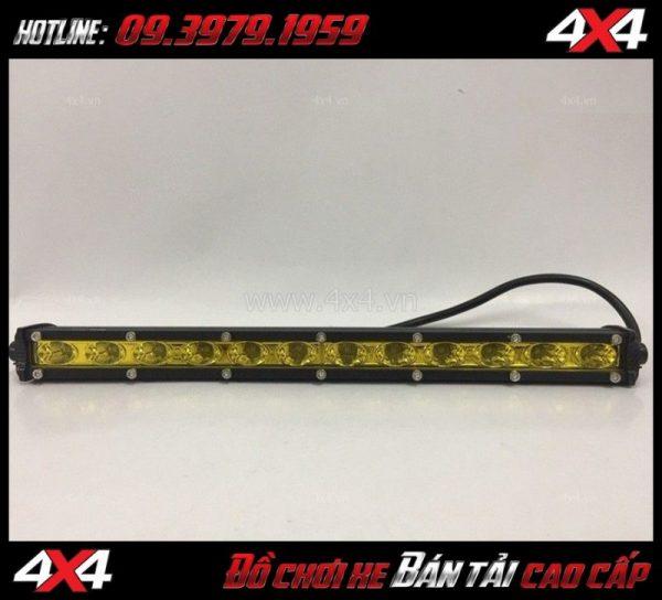 Đèn led bar 6D phá sương mù ô tô độ đẹp cho xe ô tô xe bán tải tại HCM