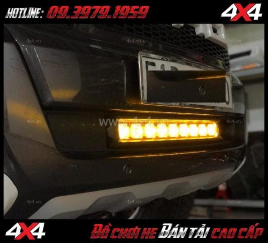 Đèn led bar 6D loại phá sương mù ô tô