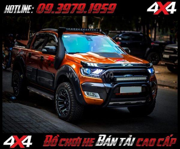 Picture Combo Đèn mắt quỷ, mí led, vòng Angel eyes mẫu Ford Mustang 3D thay đẹp và hài hòa cho xe pickup Ford Ranger 2018 2019 ở Tp Hồ Chí Minh